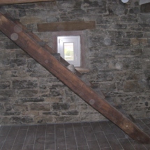 original Treppe restauriert