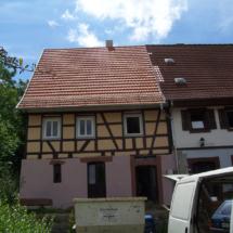 Sanierung Fachwerk und Dachstuhl
