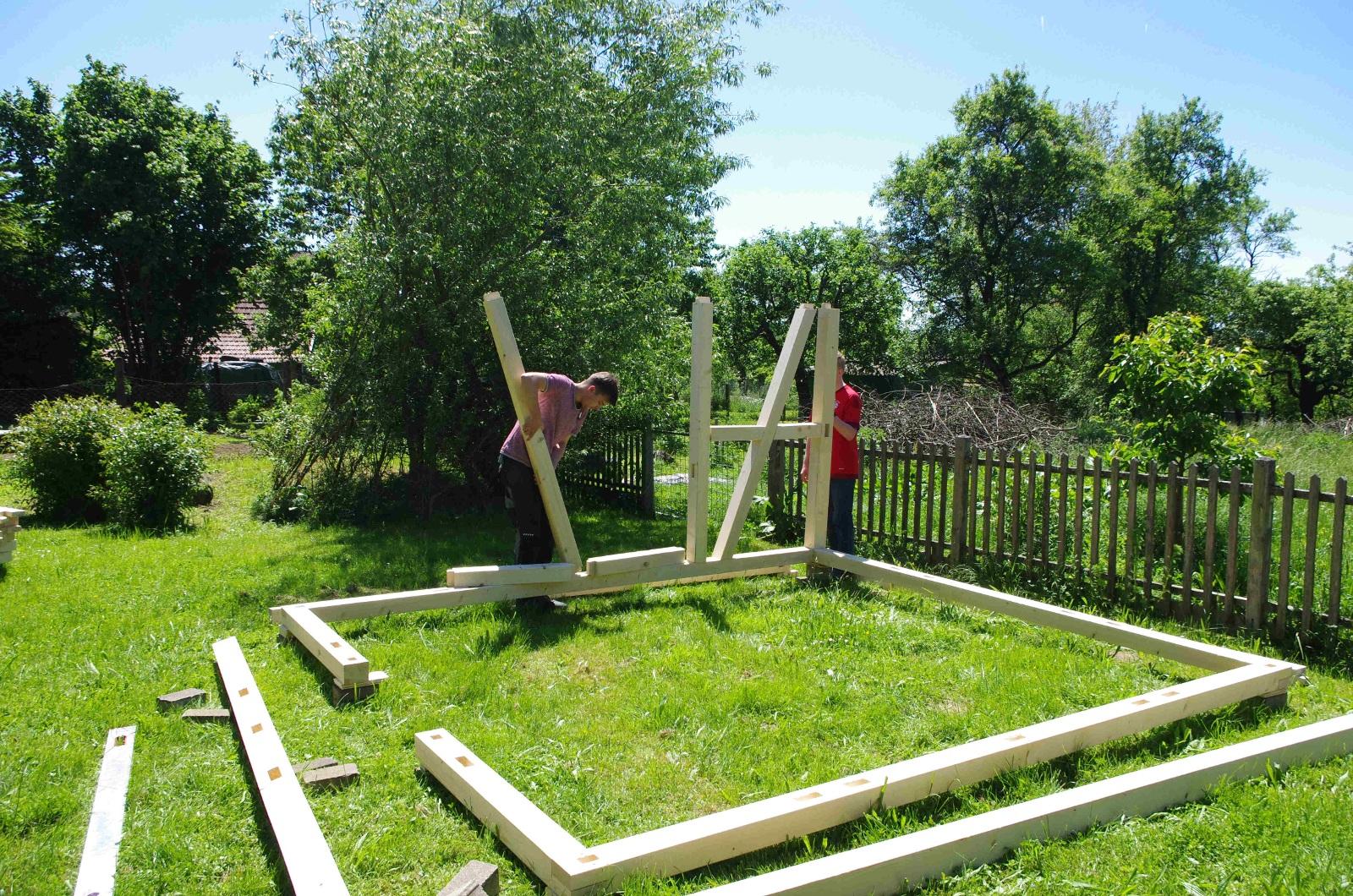 Berühmt Gartenhaus ohne Bauantrag! - Zimmerei Hombach FY35