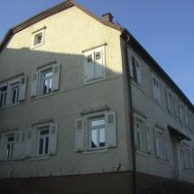 Sanierung Pfarrhaus Mittelschefflenz Denkmalschutz
