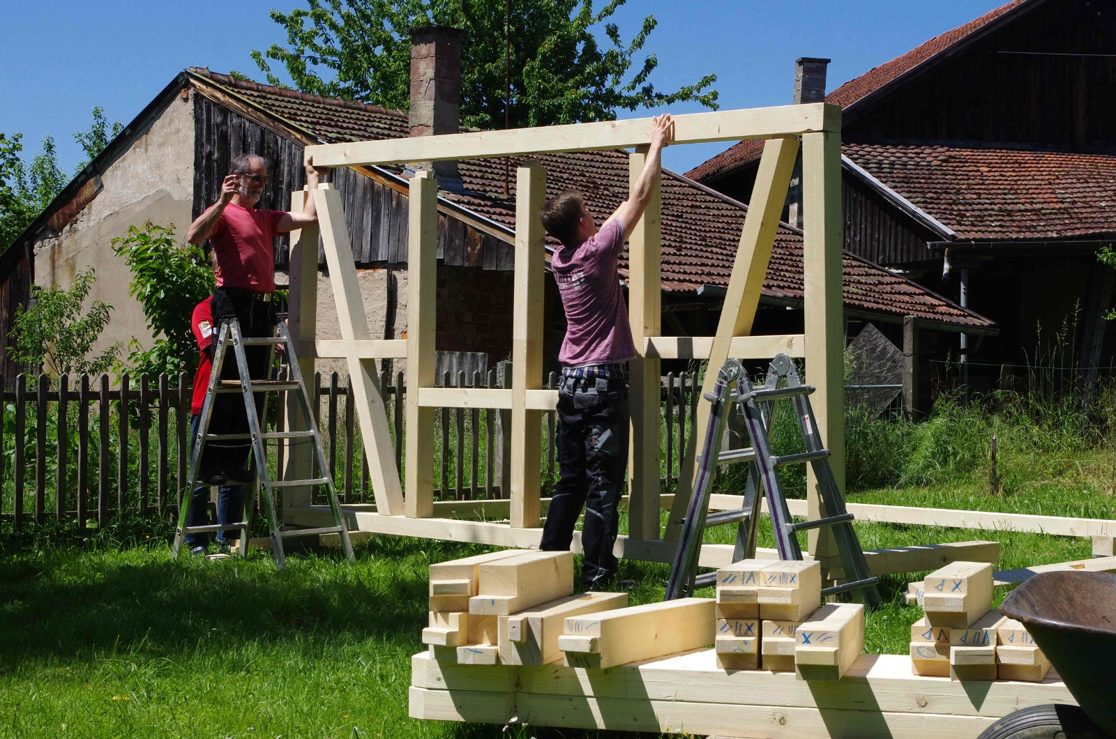 Gartenhaus ohne bauantrag zimmerei hombach - Gartenhaus ausbauen ...