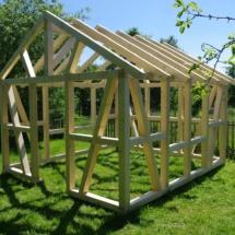 Beliebt Gartenhaus ohne Bauantrag! - Zimmerei Hombach SM44